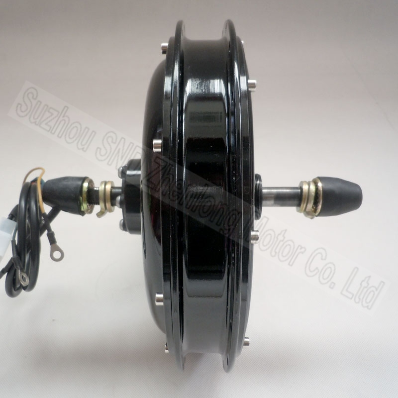 Electric bike rear spoke hub motor 48v 1000w top quality for Electric bike rear hub motor