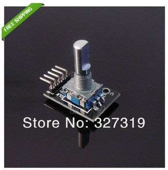 5PCS wholesale retail Rotary Encoder Module Brick Sensor Development Board For Arduino freeshipping