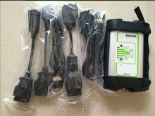 The best price for Volvo Vocom 88890300 Communication interface With Full 5 Cables free shipping By DHL(China (Mainland))