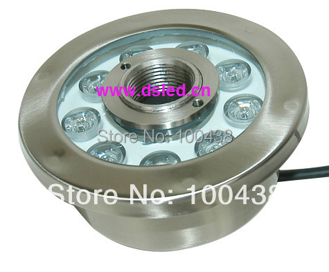 CE,IP68,high power 9W LED fountain light,LED pool light,DS-10-36 9X1W,12V DC,Stainless steel fitting,2-year warranty(China (Mainland))