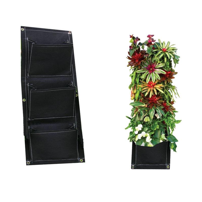 Vertical planteur mur promotion achetez des vertical for Pockets jardin vertical