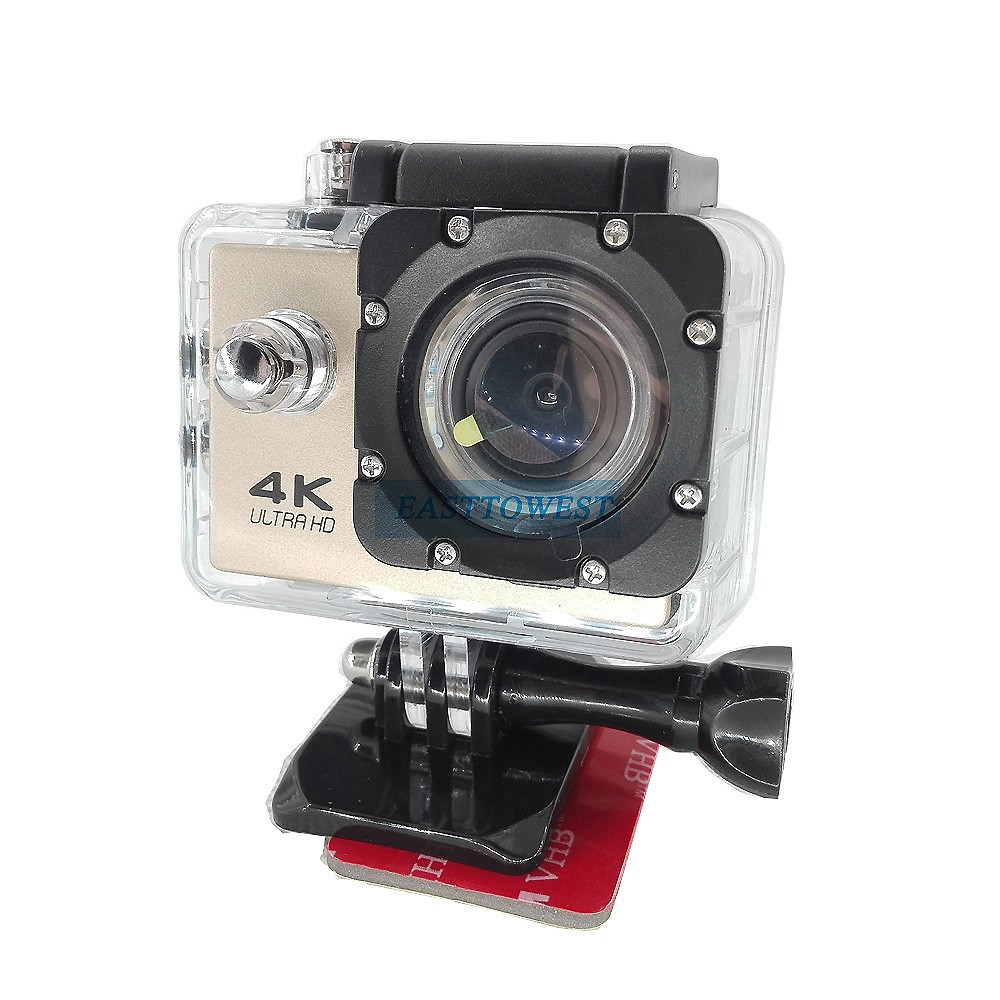 Go Pro Accessories Flat Curve Surface Mount with Adhesive for Gopro Hero 4 Sjcam Xiaomi Yi Action Camera