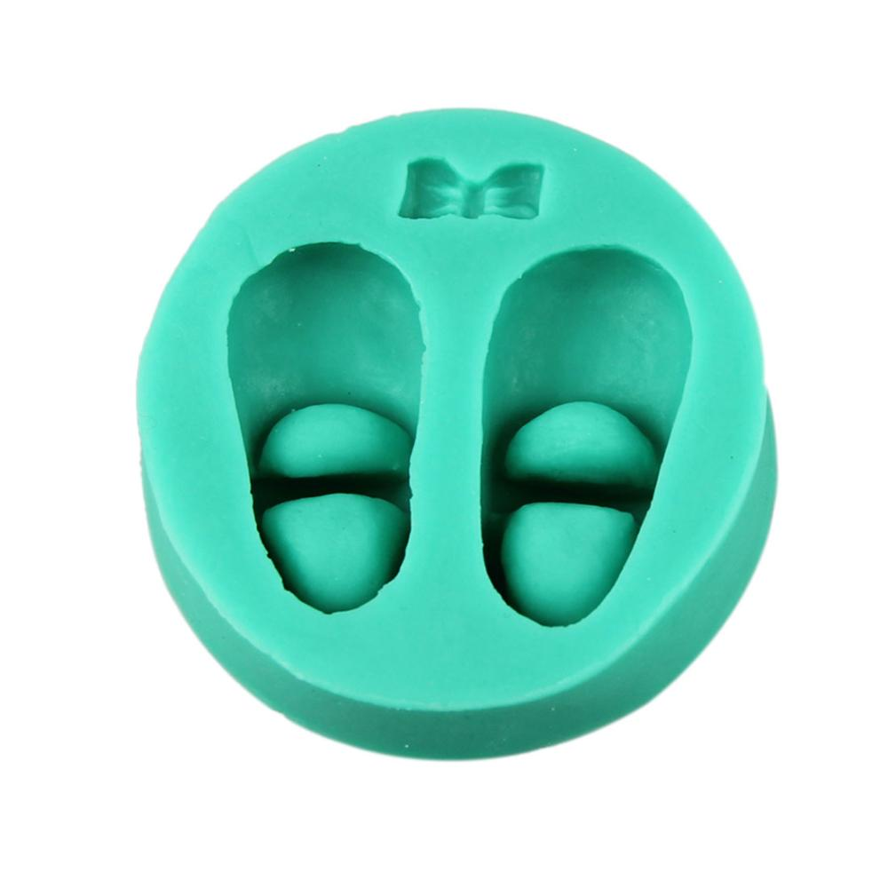 Essential shoes cake mold silicone baking tools kitchen accessories decorations for cakes Fondant chocolates soap(China (Mainland))
