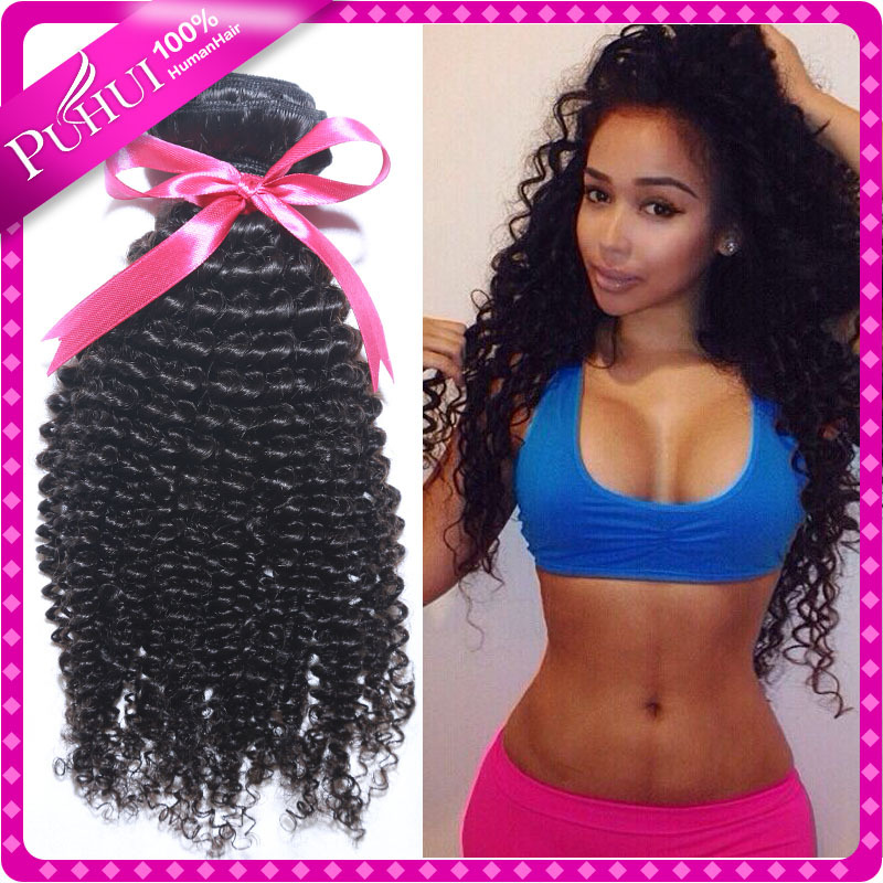 Peruvian Kinky Curly Virgin Hair Peruvian Curly Hair 4 Bundles Curly Weave Human Hair Extensions Grace Hair Products Kinky Curly(China (Mainland))