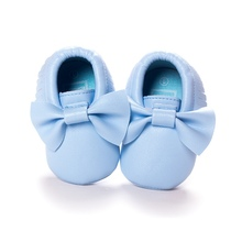 2016 New Tassels Baby Moccasin Newborn Babies Shoes Soft Bottom PU leather Prewalkers Boots SL01(China (Mainland))