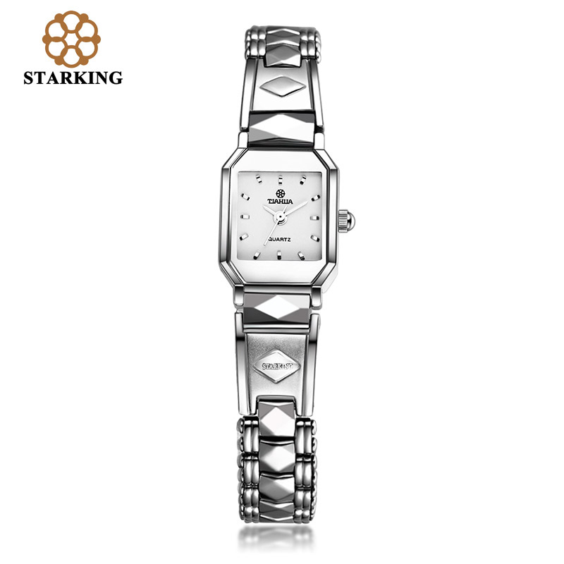 STARKING Brand Ladies Quartz Watch Stainless Steel Sapphire Role Watches Women Bracelet Dress Wrist Watch BL0347 reloj de cuarzo(China (Mainland))