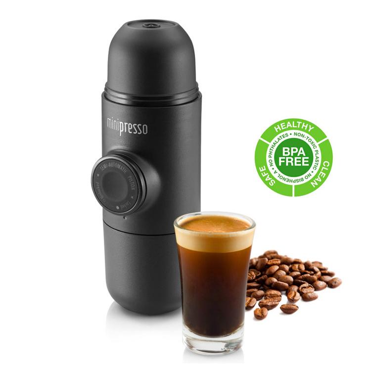 Travel Italian Coffee Maker : Minipresso Portable Coffee Machine Set Espresso Maker Wacaco Outdoor Travel Mug eBay
