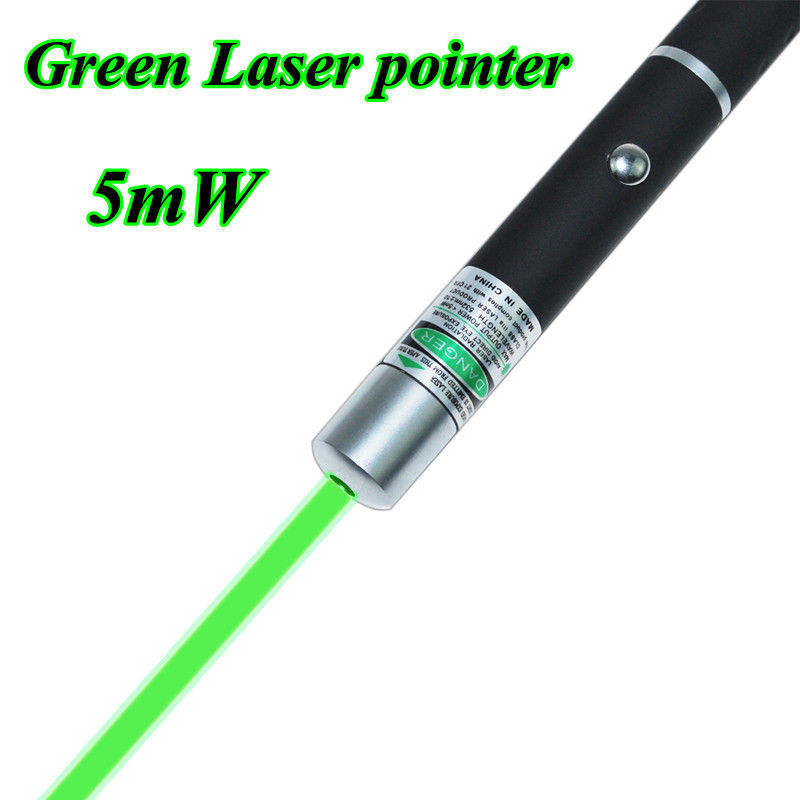 Powerful 5mW 532nm Green Beam Laser Pointer PenGift high power laser pointer New(China (Mainland))