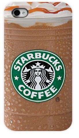 Brand New Starbucks Ice Coffee Girl Protective Hard Mobile Phone Case Cover iphone 5 5S