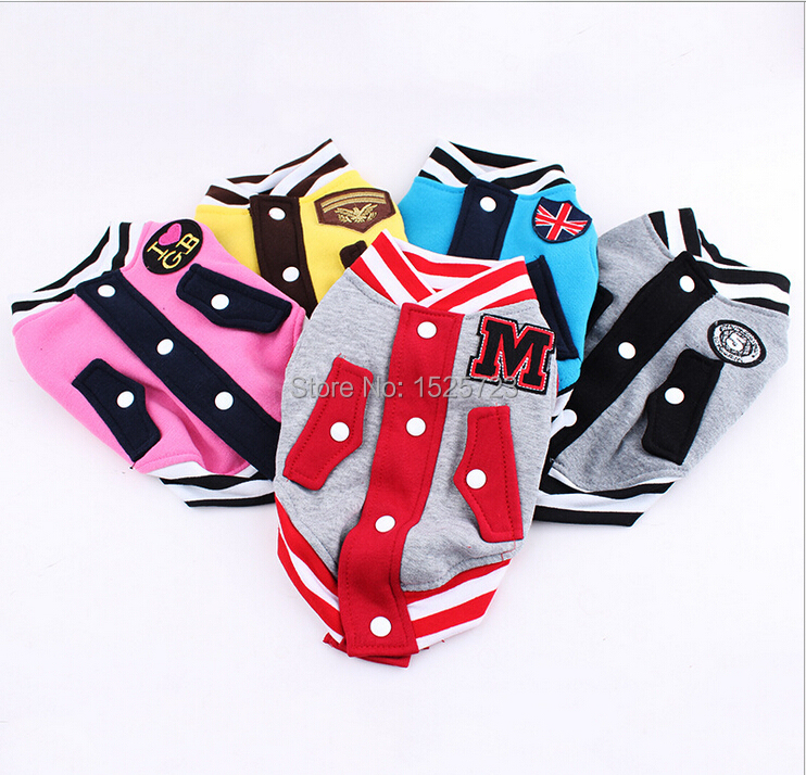 Free shipping new 2015 Spring Pet clothes pets clothing jerseys dogs vests dog clothes clothing for dogs(China (Mainland))