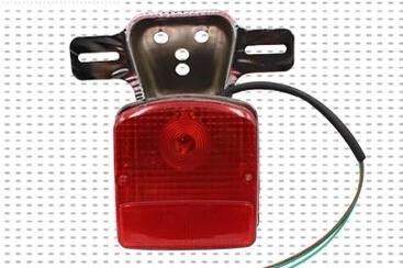For Haojue Prince HJ125-8 GN125 Suzuki Prince taillight assembly brake lights(China (Mainland))