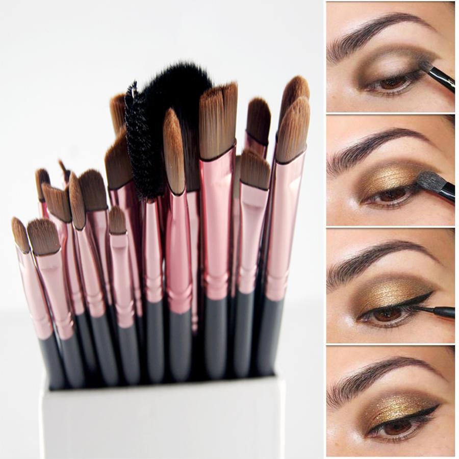 Aliexpress.com  Buy 20Pcs Paintbrushes Of Makeup Brushes Set Powder Foundation Eyeshadow ...