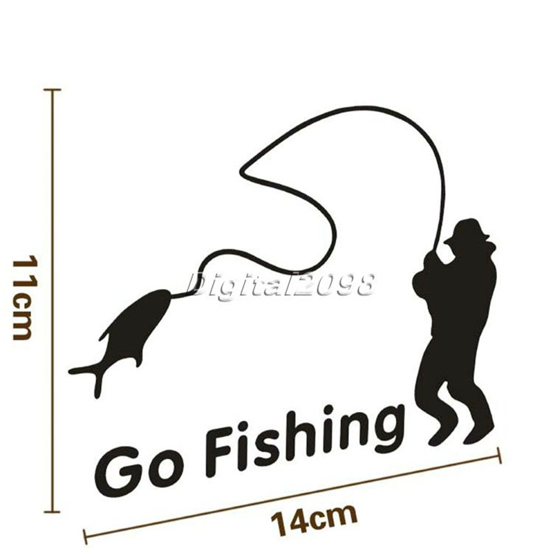 Free fishing decals promotion shop for promotional free for Free fishing decals