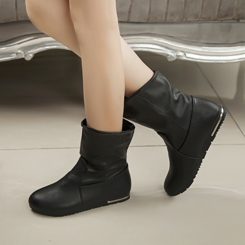 2014 new s simple boots autumn and winter