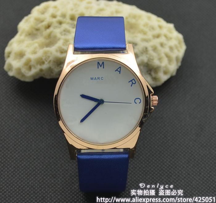 Blue-Free-shipping-wholesale-sale-promotion-Luxury-Famous-M-Design-Brand-MJ-Women-men-Watch-Fashion-Quartz