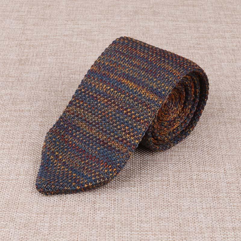 New Fashion Mens Stripe Ties Neckties For Wedding Korean Style Mens Knitting Tie Neckwear Trendy Popular Mens Knitted Brand Ties(China (Mainland))