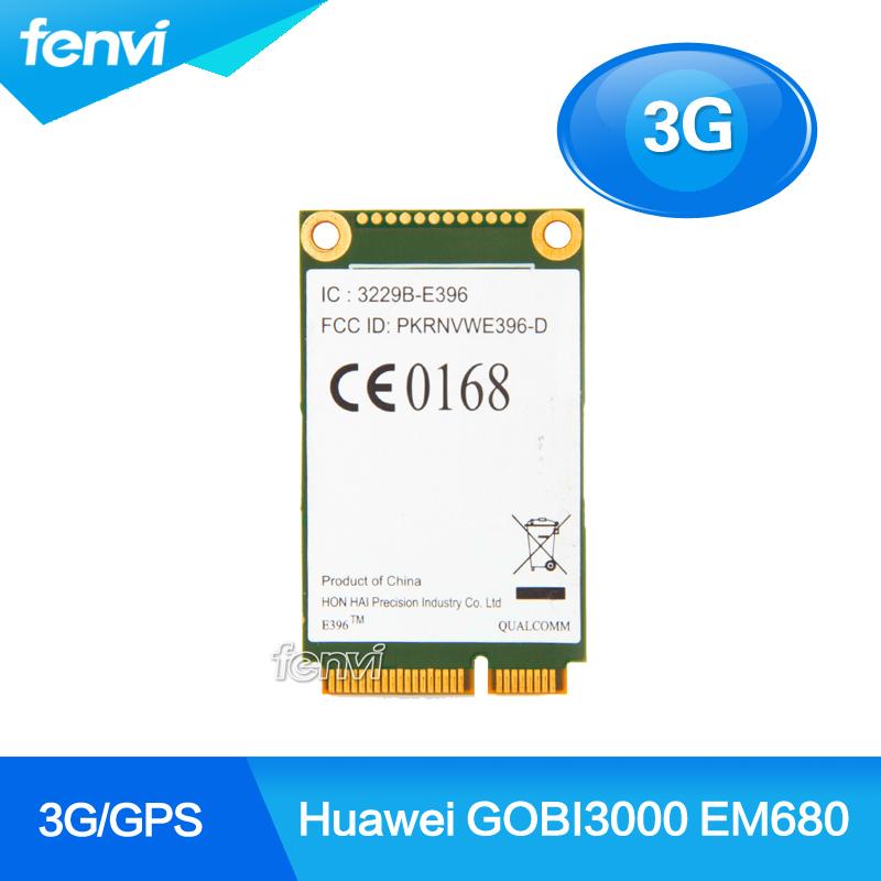 Huawei GOBI3000 EM680 Wireless 3G WWAN PCI-E Card GPS/EVDO/HSPA+ /GSM/GPRS/EDGE Mini PCI Express Module(China (Mainland))