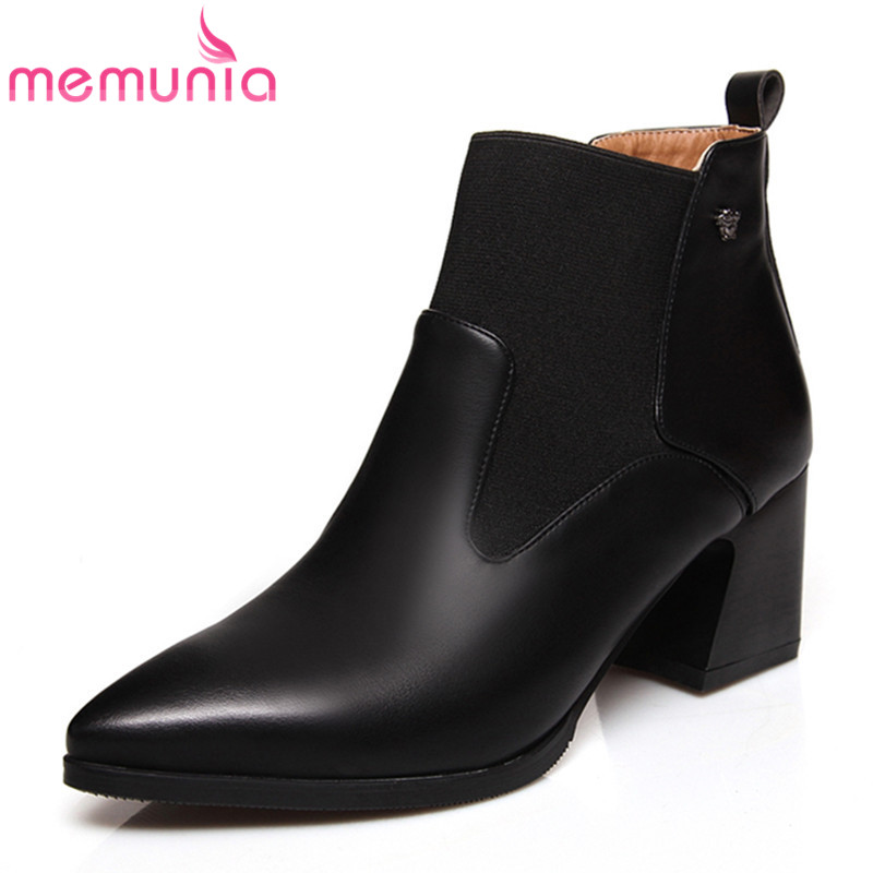 Online Get Cheap Black Leather Ladies Ankle Boots -Aliexpress.com ...