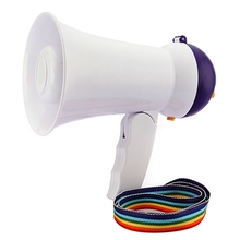 New Arrival Best Price Mini Portable Megaphone Foldable Bullhorn Handheld Grip Loud Clear Voice Amplifier Loudspeaker(China (Mainland))