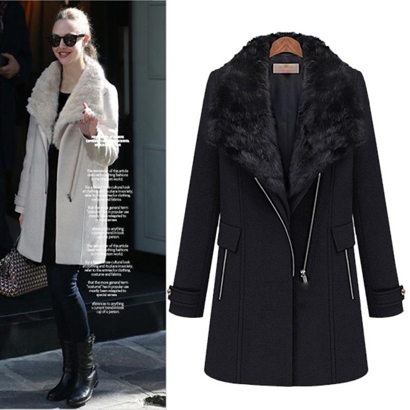 2015 new casual femmes manteau d 39 hiver style europ en et for Style ricain