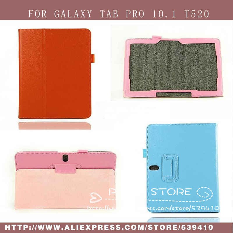 Cheap Wholesale 100pcs/lot Tab Pro 10.1 T520 Case cover For Samsung GALAXY Tab pro 10.1 T520 stand pu leather cover,DHL shipping<br><br>Aliexpress
