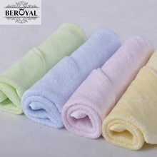 Buy New 2017 Wholesale Baby Towel -- 20pc/Lot 25*48cm Bamboo Hand Towel Face Cloth Plain Dyed Children Bibs Soft Towels bathroom for $38.39 in AliExpress store