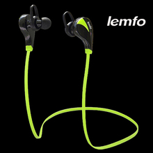 Lemfo Bluetooth Headset Stereo Sweat proof Sports Running Hands Free Wireless Headphones In Ear Earbud Earphones with Microphone(China (Mainland))