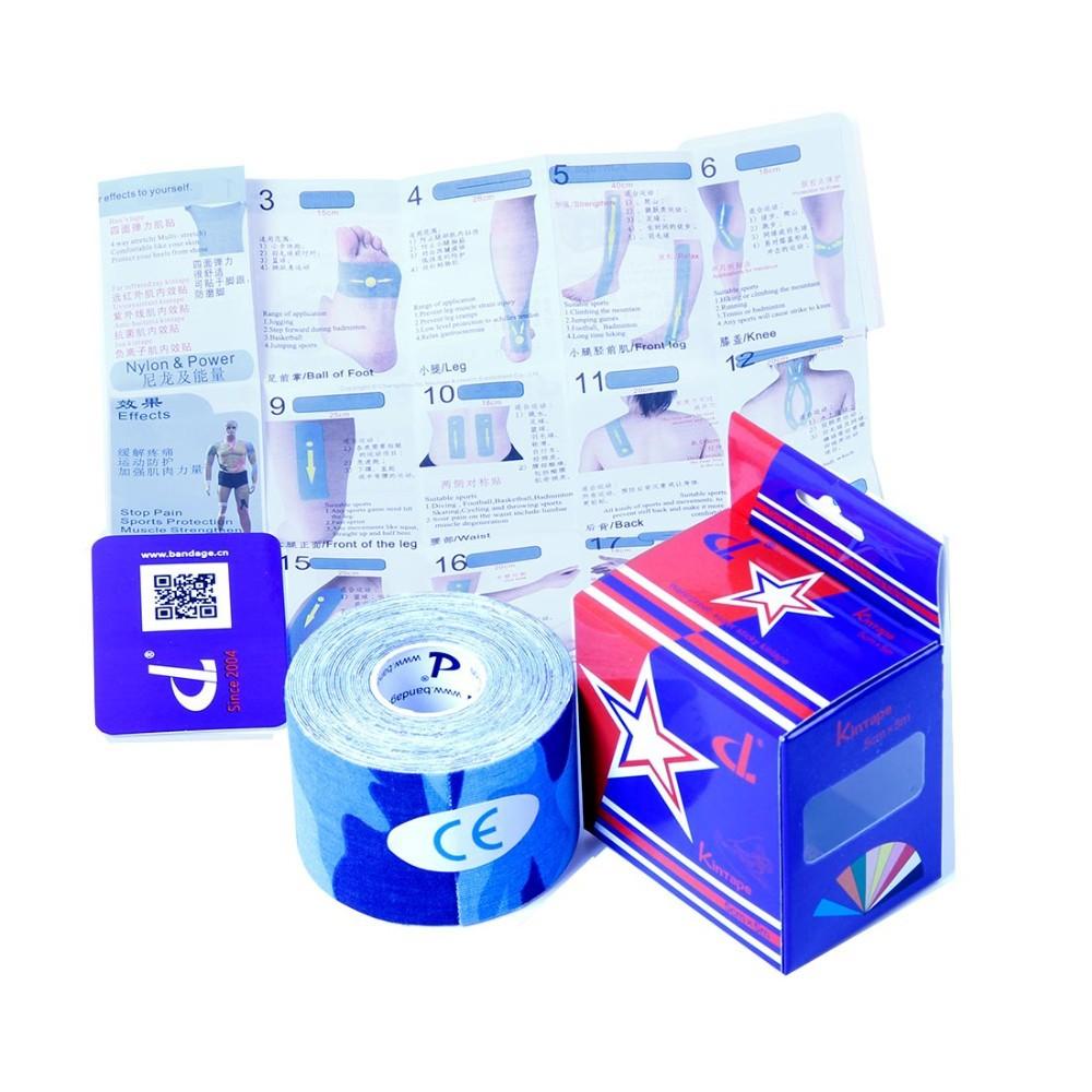 13 Colores de cinta Kinesiología 5 cm x 5 m Envío Libre Para Deportes de Fuerza Rápida Fortalecer EE. UU., la Liberación Muscular y Proteger la Seguridad en Los Deportes(China (Mainland))
