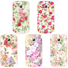 Buy New Women Girls' Beautiful Floral Painting Case Samsung Galaxy Trend Duos S7562 Colorful Flowers Skin Back Cover for $1.19 in AliExpress store