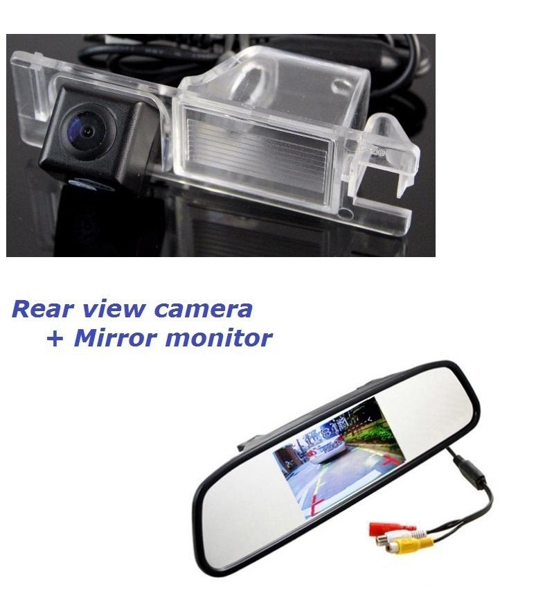 2in1 for Alfa Romeo Giulietta 940 car backup rear view rearview reverse parking camera camara kamera with screen display monitor<br><br>Aliexpress