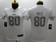 stitched women San Francisco /s Joe Montana 42 Ronnie Lott 80 Jerry Rice 82 Torrey Smith 81 Anquan Boldin,camouflage(China (Mainland))