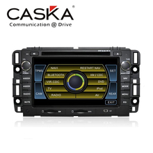 100% CASKA Car dvd player for GM universal series for Chevrolet Silverado Chevrolet Buick Saturn GMC GPS Navi bluetooth(China (Mainland))