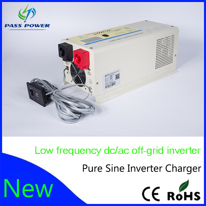 3000w pure sine wave off grid solar inverter charger 12v 24v 48v UPS inverter solar inverter(China (Mainland))