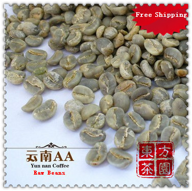 500g From China s Yunnan AA Level Small Green Coffee Bean New Raw Coffee Beans High