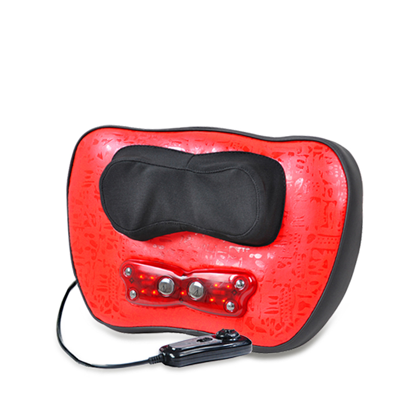 2015 FREE SHIPPING Kneading neck pain massage machine beauty cheap price multi-function massage pillow(China (Mainland))
