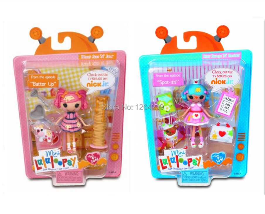 New Mini Lalaloopsy Mini Moments in Time Figure Dolls For Girls Kids Toys Children Gifts(China (Mainland))