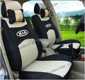 5 Seats+Free Shipping+Seat Cover For All KIA Car+Airbag Compatible+Breathable Material+Gift (Two Pillows)+Logo