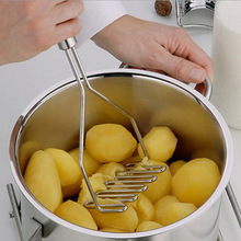 Stainless steel potato masher ricer carrot vegetable dicer press best accessory kitchen gadget manual cooking tool