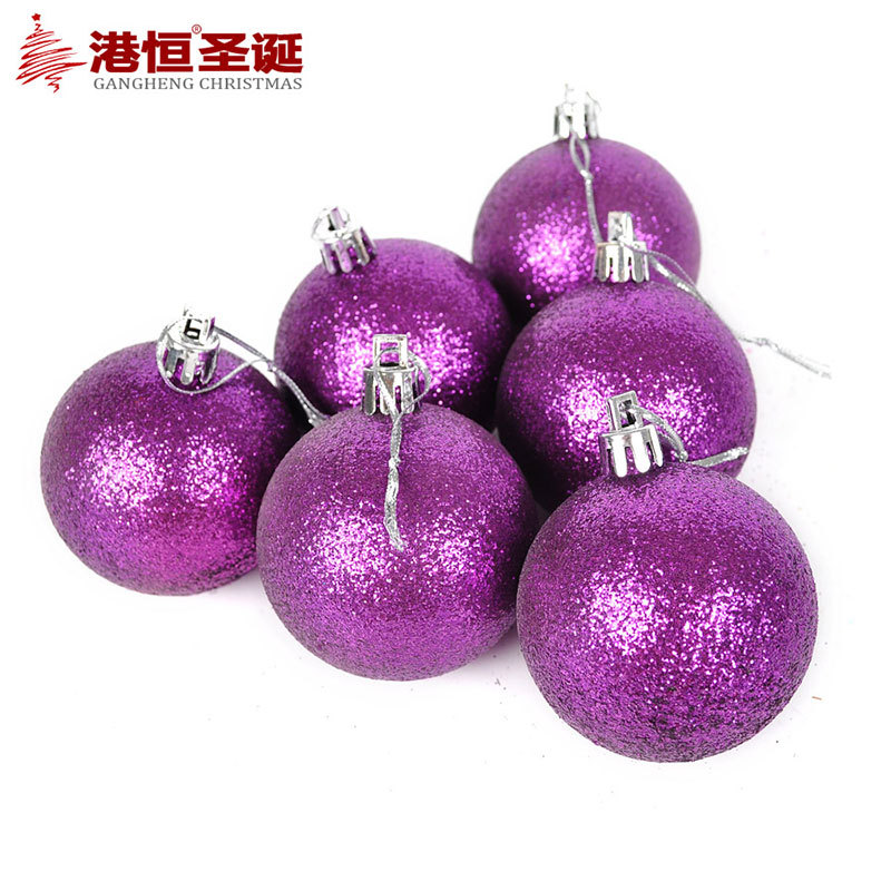 2015 new hot sale christmas tree ornaments 6cm sticky for Christmas ornaments sale