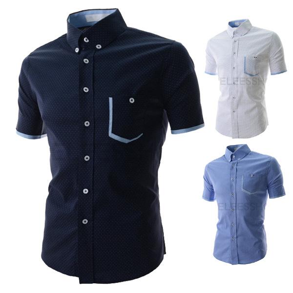 High quality new 2015 fashion french cufflinks shirts mens for Mens dress shirts cufflinks