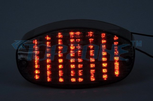 LED Motorcycle Tail Light (Integrated Turn signal) For YAMAHA YZF600R 98-07 / CUSTOM/VSTAR 650/1100 99-07