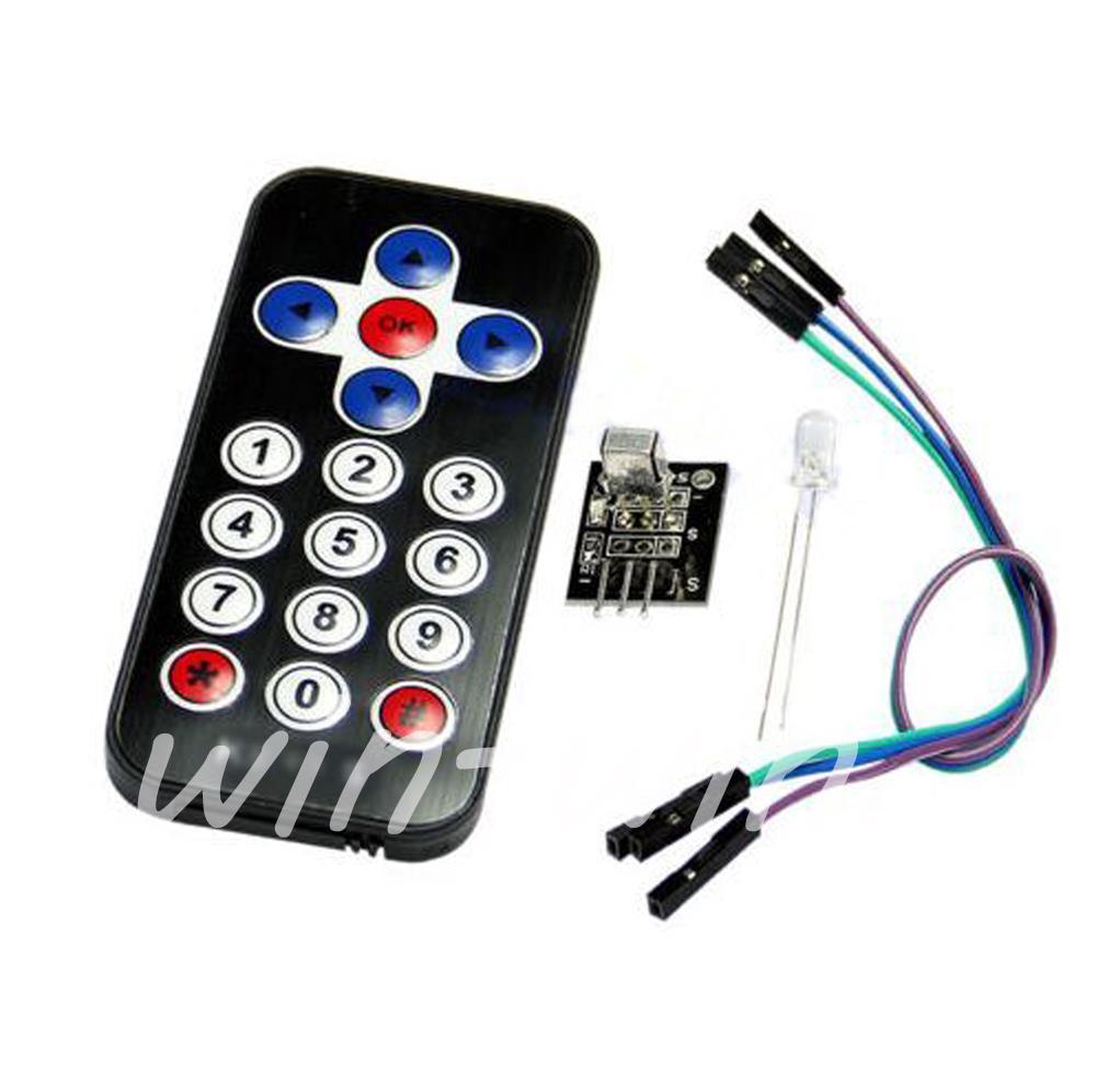 10Pcs New Infrared IR Wireless Remote Control Module Kits Hot(China (Mainland))