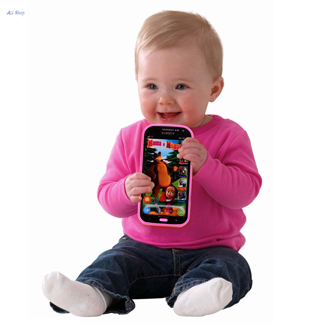Brand New ABS Plastic Children Baby Boys Girls Russian Language Educational Telephone Toy Mobile Phone Toys Brinquedos OLYP(China (Mainland))