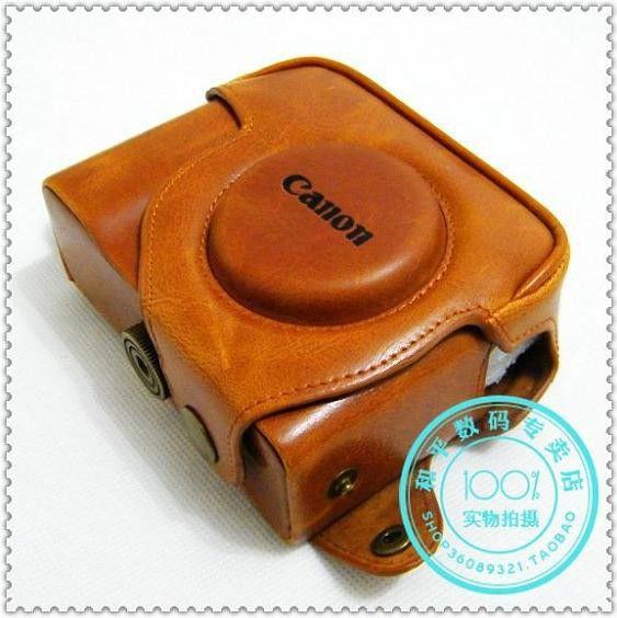 Achetez en gros canon g11 tui en cuir en ligne des for Housse canon g15