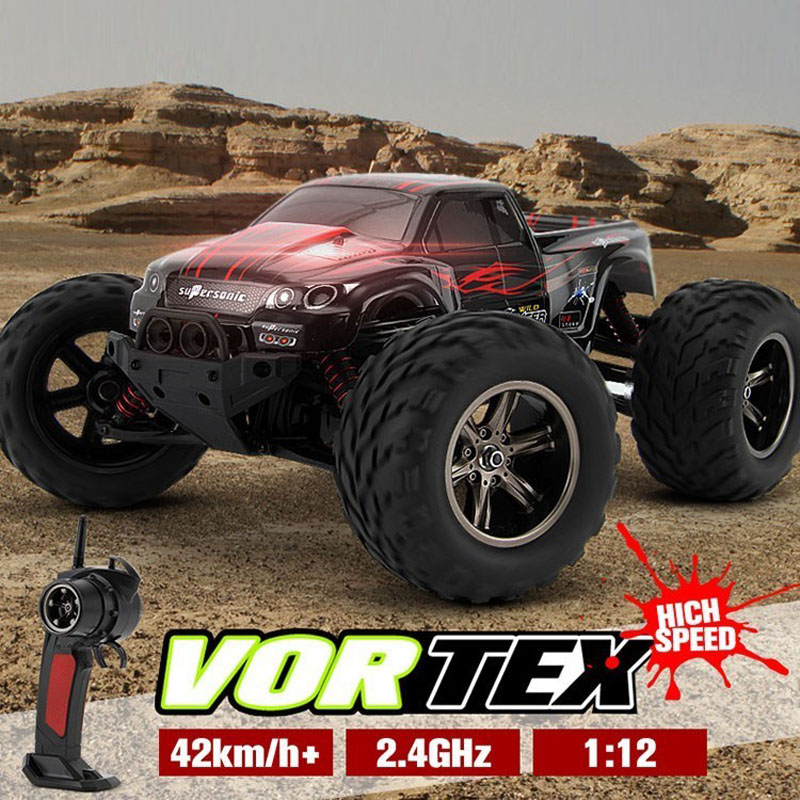 KF S911 1/12 2WD 42km/h RC Car High Speed Remote Control Off Road Dirt Bike Classic Toys Truck Traxxas Big Wheel Boy Gift(China (Mainland))