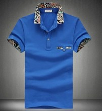 2016 Brand Shirts For Men Brand Cotton Polo Shirt Free Shipping Plus Size 4XL 5XL N-5Zhe