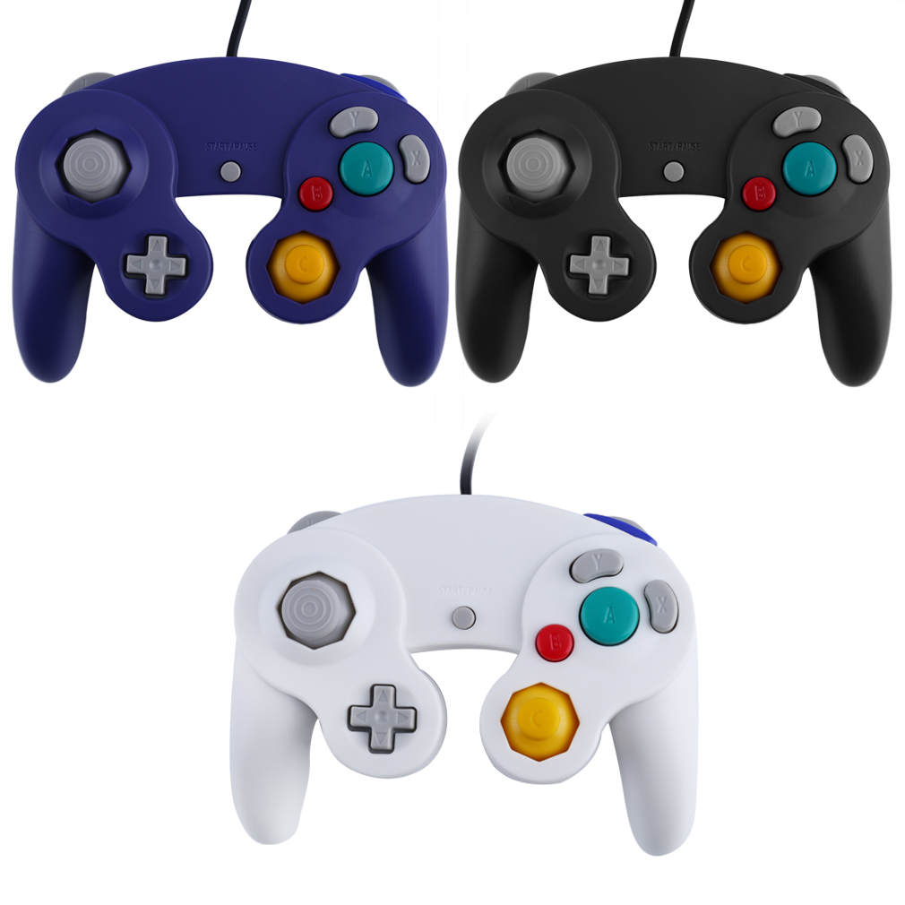 image for New Game Controller Gamepad Joystick For Nintendo Game Cube For Wii Pl