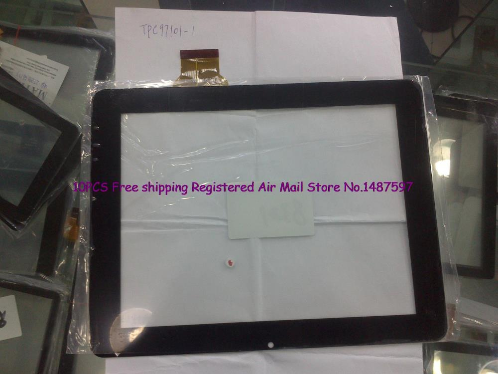10pcs/Lot Free shipping 9.7 inches capacitive multi- touch screen external screen handwriting screen PB97DR8321 cable TPC97101-1<br><br>Aliexpress