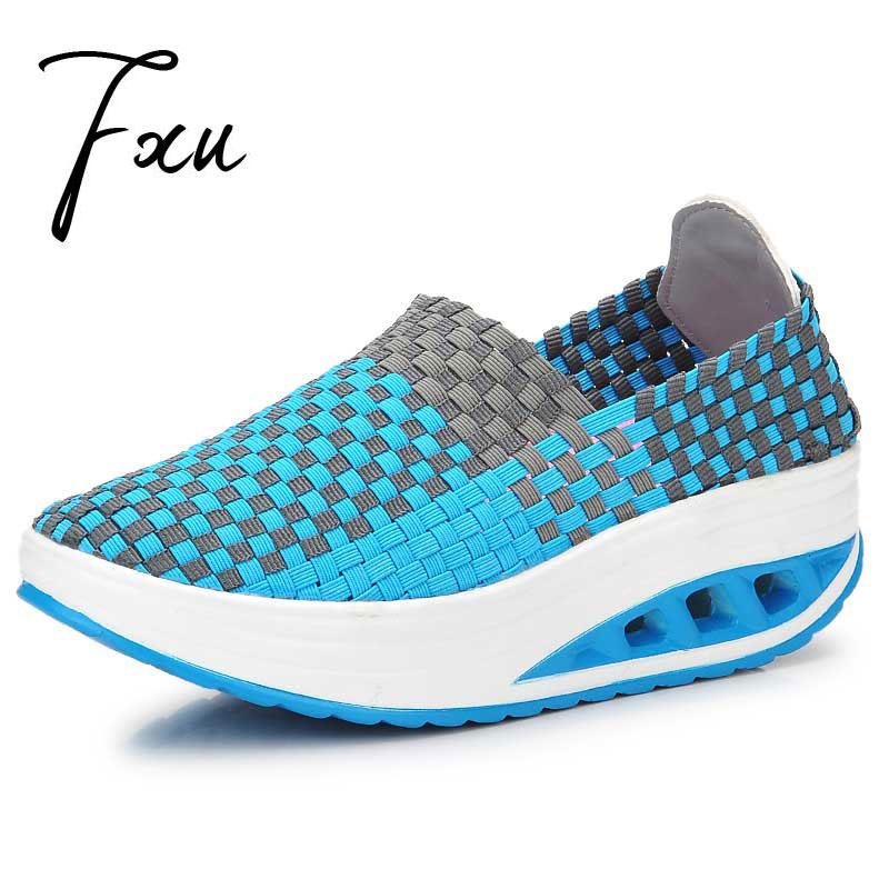 Height Increasing Braid Shoes Women Summer Shoes Women's Casual Shoes 2016 Fashion Sneaker Women Swing Wedges Shoes Platform(China (Mainland))
