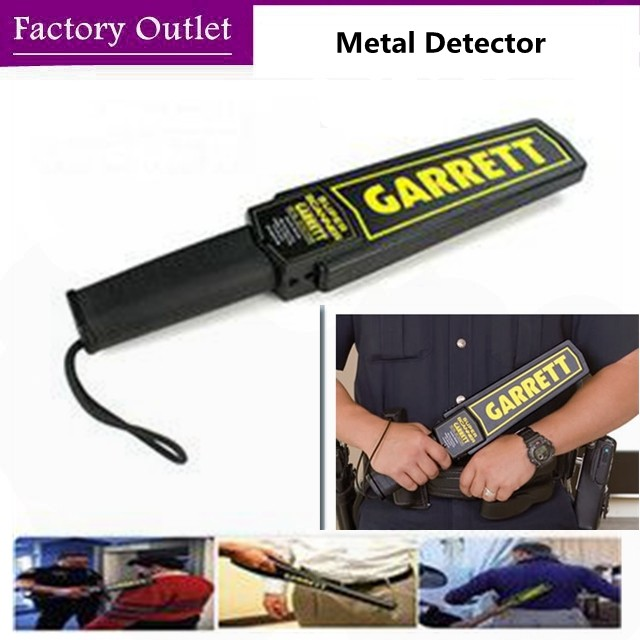 Buy GARRETT metal detector Professional Portable Metal underground Detector de metal altin dedektor knife lighter Security checker cheap
